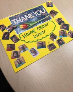honor credit union teacher awards 2018