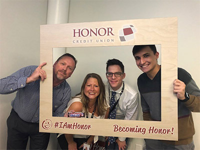 honor credit union becoming honor onboarding