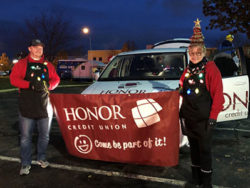Honor credit union parade