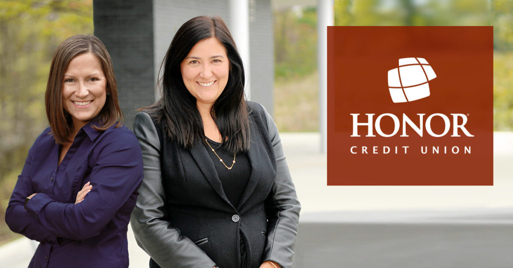 honor credit union's new member experience team will be led by Sara Buursma and Amanda Craig