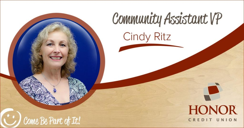 honor credit union cindy ritz