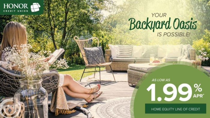 great rates on home equity line of credit from honor credit union