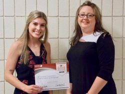 honor credit union college scholarship winner maci aho