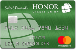Honor Select Rewards Credit Card