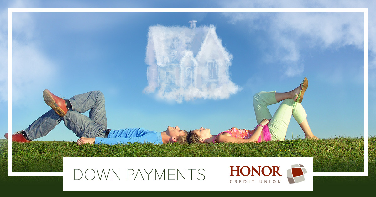 you have down payment options when buying a house with honor credit union