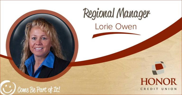 honor credit union regional manager lorie owen