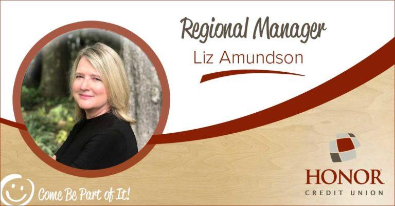 honor credit union regional manager liz amundson