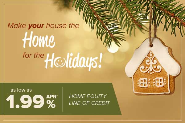 get a home equity line of credit with a rate as low as 1.99% from honor credit union for a limited time