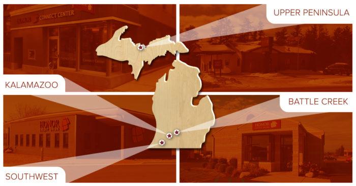 honor credit union locations