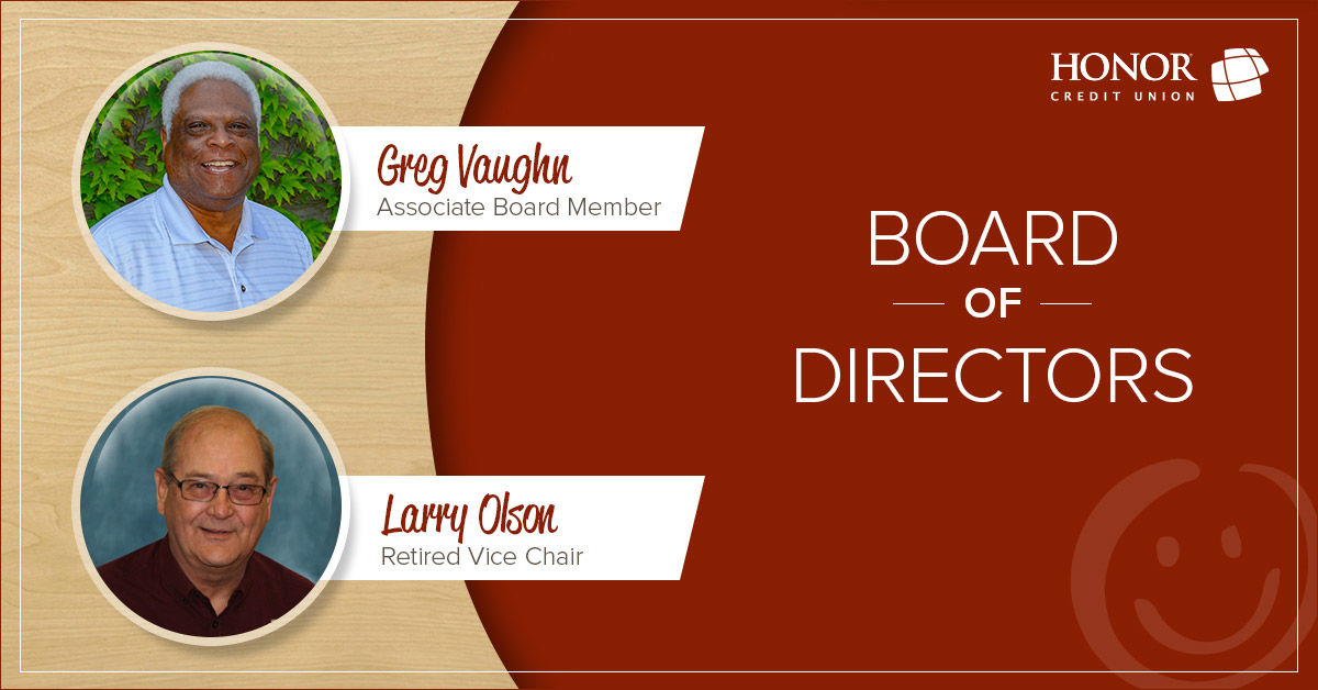 honor credit union announces board of director changes