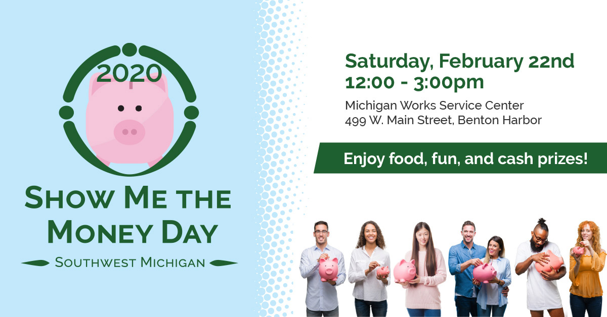 Summit Financial Wellness will host Berrien County's first Show Me The Money Day on February 22nd