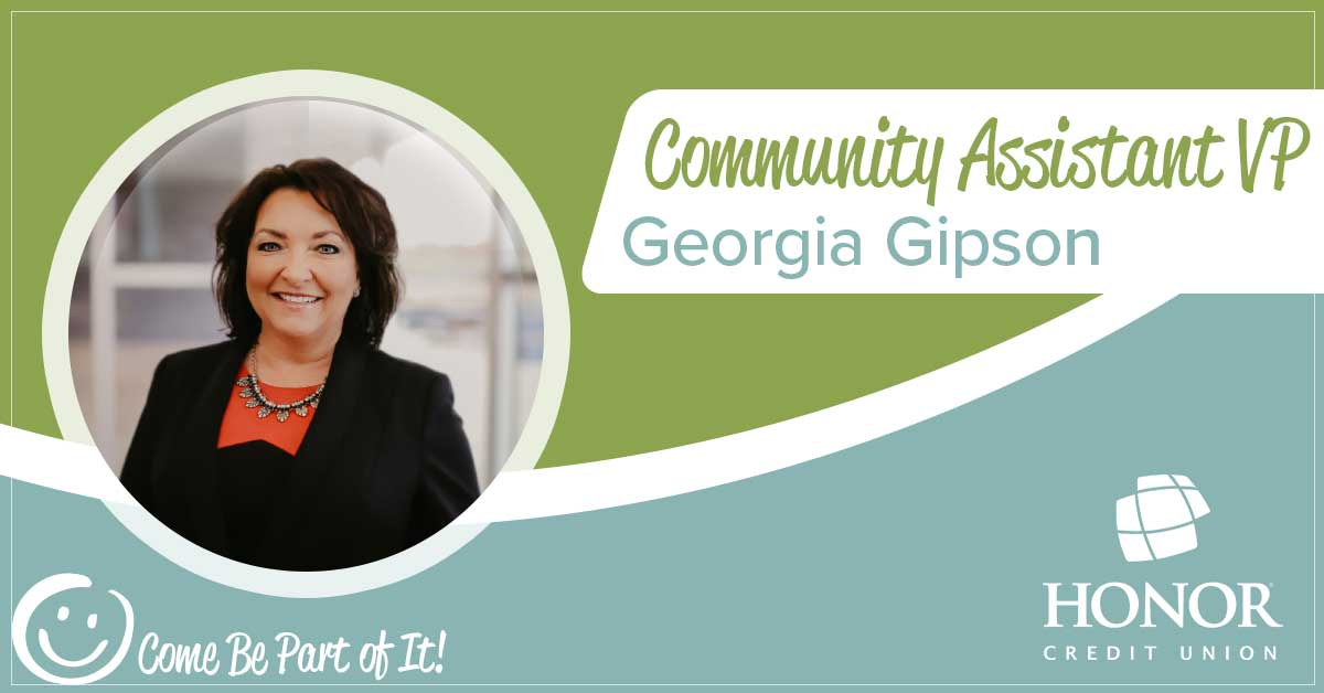portrait headshot photo of honor credit union cavp georgia gipson
