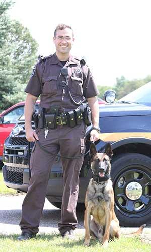 photo of patrol dog rizzo
