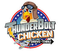 thunderbolt chicken logo