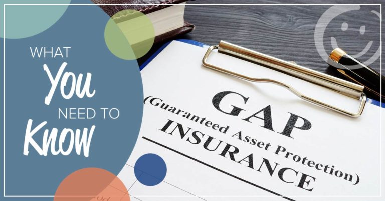 image of an honor credit union guarantee asset protection insurance form with text overlay that reads what you need to know about GAP Insurance
