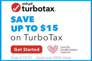 image with a white background and the turbotax logo on it with text that reads save up to $15 on turbotax