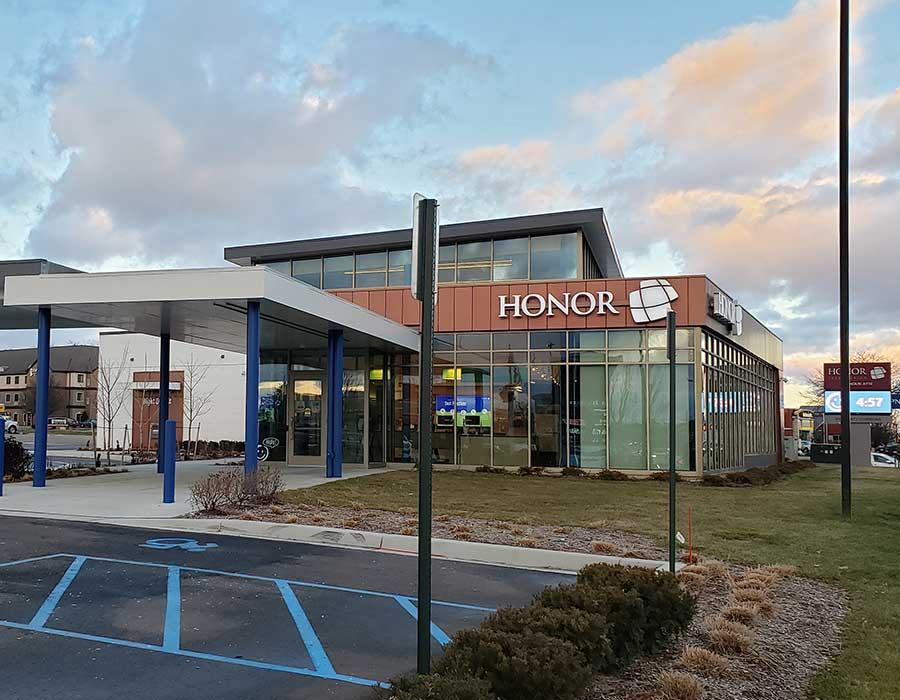 photo of honor credit union stadium drive member center