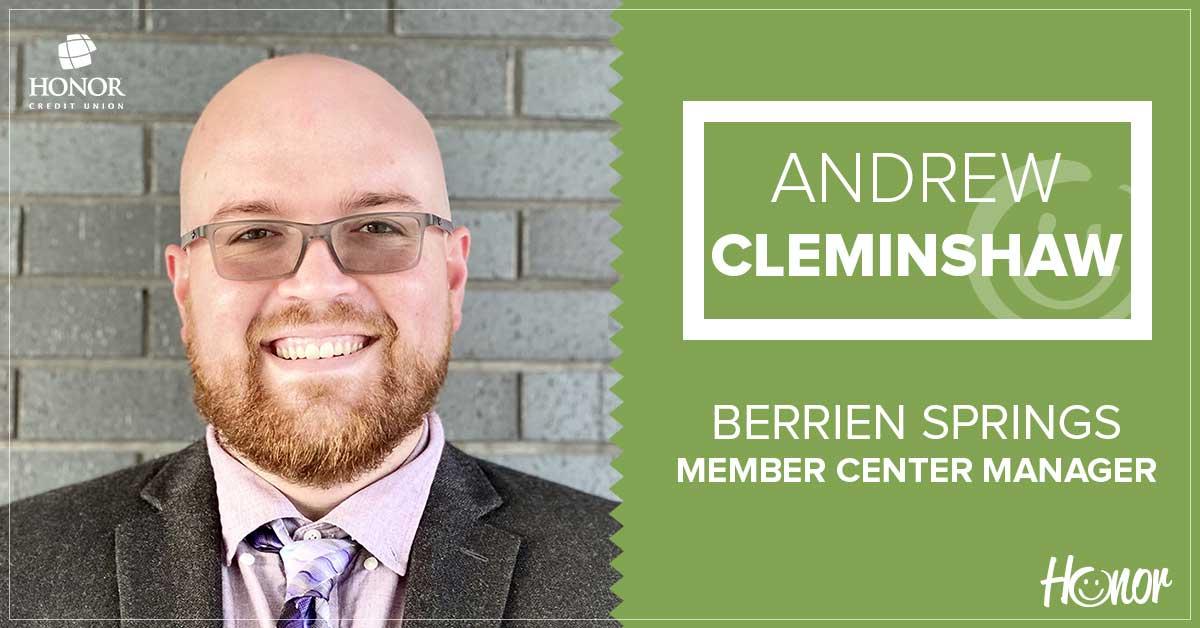 photo of berrien springs member center manager andrew cleminshaw