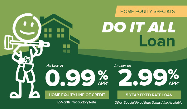 image promoting honor credit union's home equity special offers; click the image to learn more