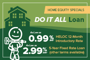 image featuring promotional text about honor's home equity loan and home equity line of credit special offers; click the image for details