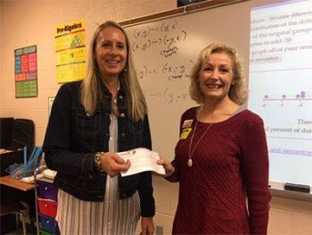 honor credit union teacher award winner