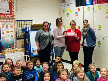 honor credit union teacher award winner