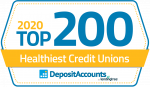 honor credit union was named a top 200 healthiest credit union in 2020 by LendingTree